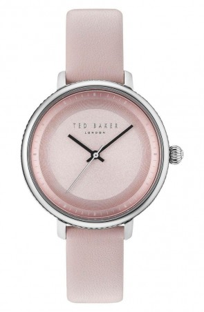 Ted Baker Ladies Womens Pink Silver Wrist Watch 10031533