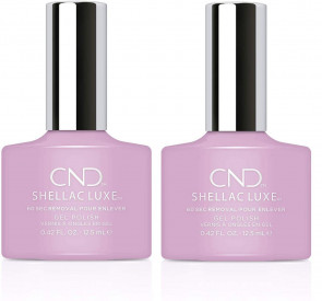 CND Shellac Luxe Ladies Womens Nail Polish Varnish Coquette 2 Pack