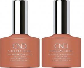 CND SHELLAC LUXE Ladies Womens Nail Polish Varnish Boheme 2 Pack
