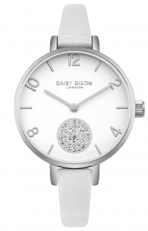 Daisy Dixon Ladies Womens Jamine Wrist Watch White Face DD075WS