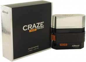Armaf Craze Noir For Men 100ml EDP Gents Aftershave Cologne Fragrance