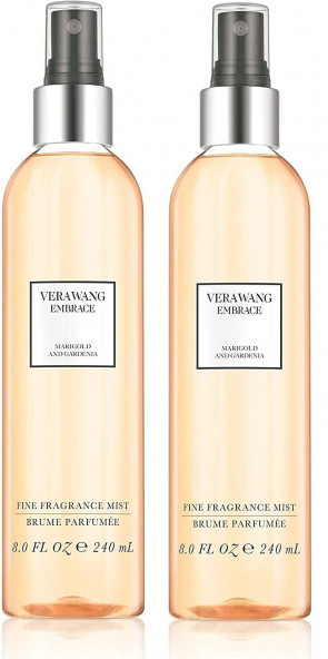 Vera Wang Embrace Fine Body Mist Marigold and Gardenia 240ML 2 PACK