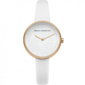 French Connection White Ladies Womens Wrist Watch  FC1295WRG
