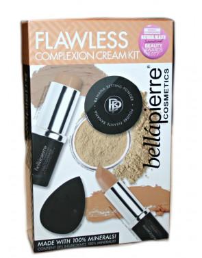 Bellapierre Ladies Womens Flawless Complexion Cream Kit DARK