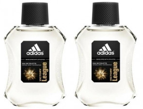 Adidas Mens Gents Victory League EDT 100ml Aftershave Fragrance 2 pack